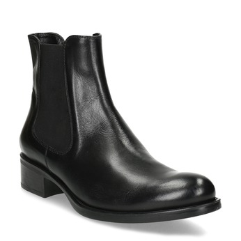 Ladies' leather Chelsea boots bata, black , 594-6448 - 13