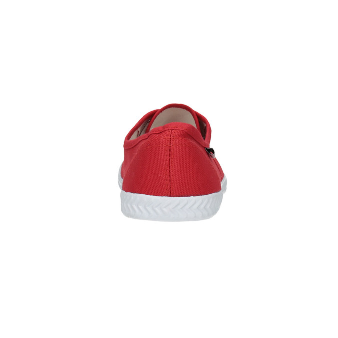 Red women's sneakers tomy-takkies, red , 519-5691 - 17