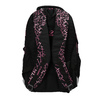 School backpack with a printed pattern bagmaster, black , 969-6602 - 26