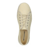 Casual leather shoes weinbrenner, beige , 526-8610 - 19