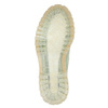 Leather shoes with a transparent sole weinbrenner, green, 526-7608 - 26