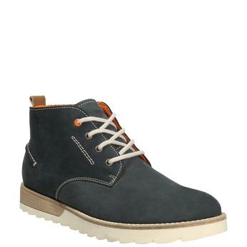 Men´s leather chukka boots weinbrenner, blue , 846-9629 - 13