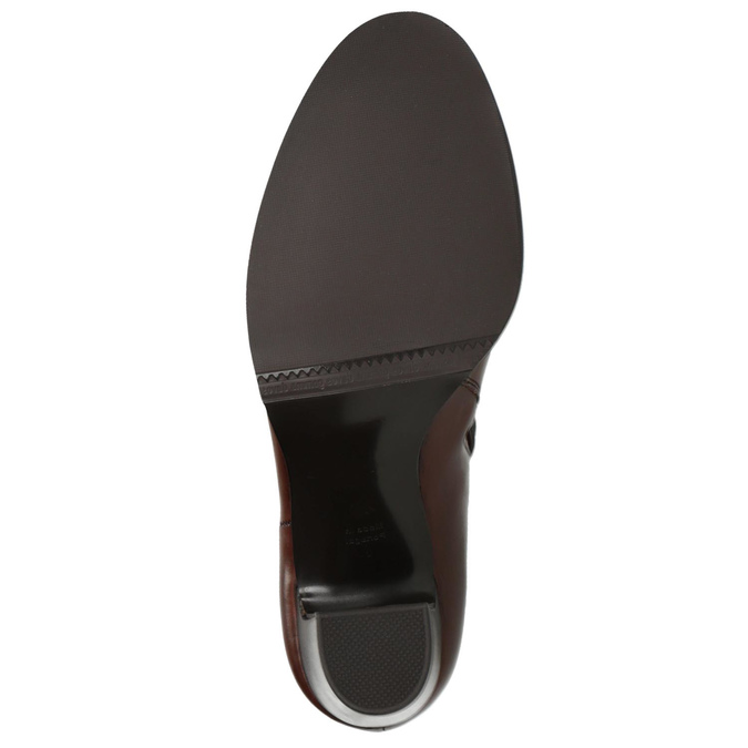 Ladies´ heeled ankle-cut shoes gabor, brown , 794-3019 - 26