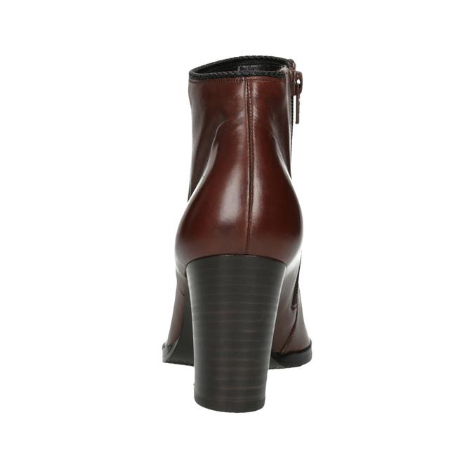Ladies´ heeled ankle-cut shoes gabor, brown , 794-3019 - 17