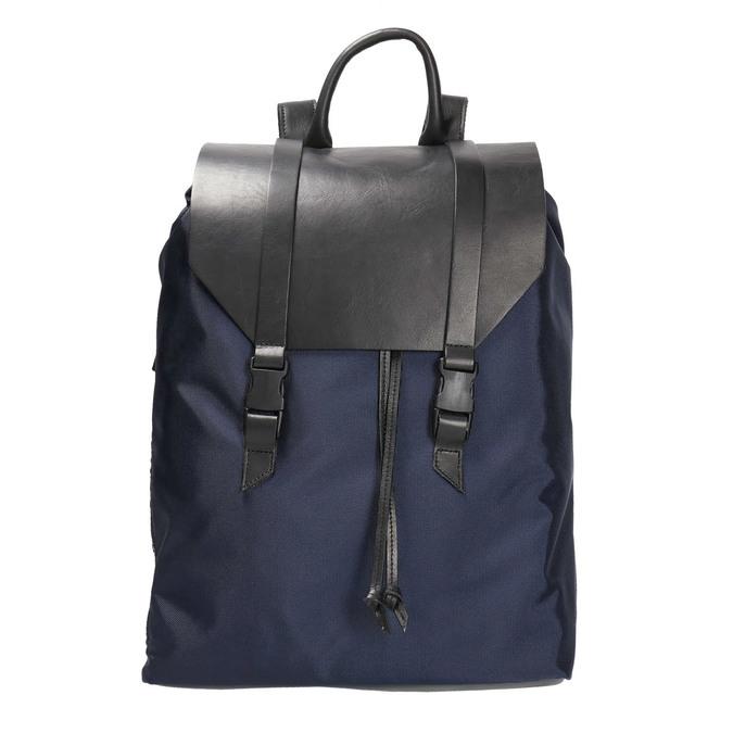 Stylish urban backpack royal-republiq, violet , 969-9003 - 26