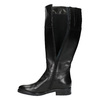 Ladies´ leather Cossacks bata, black , 594-6606 - 19