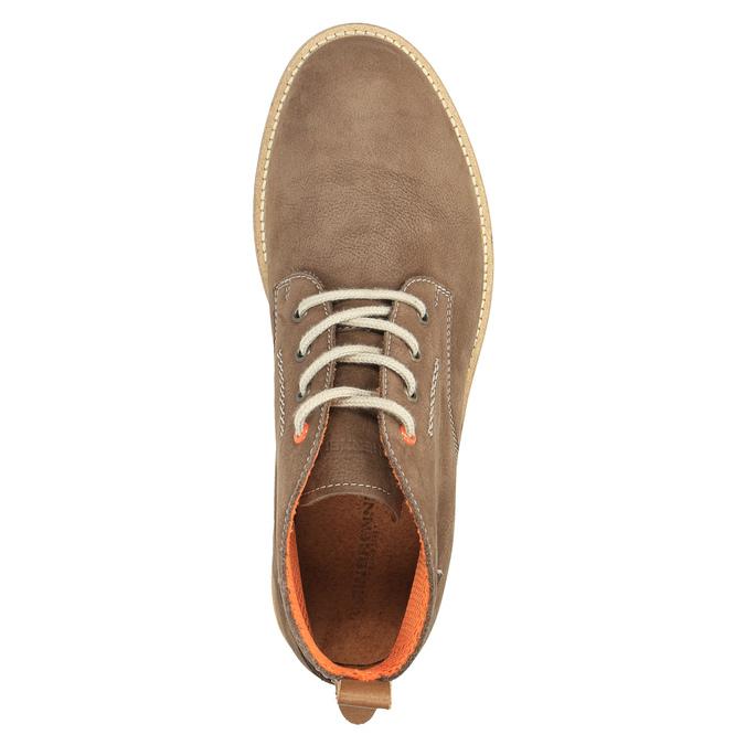Men´s leather chukka boots weinbrenner, brown , 846-4629 - 19