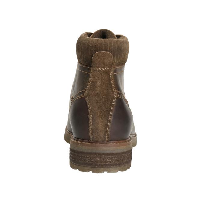 Men´s winter footwear bata, brown , 894-4644 - 17