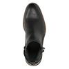 Men's leather ankle boots bata, black , 894-6660 - 19