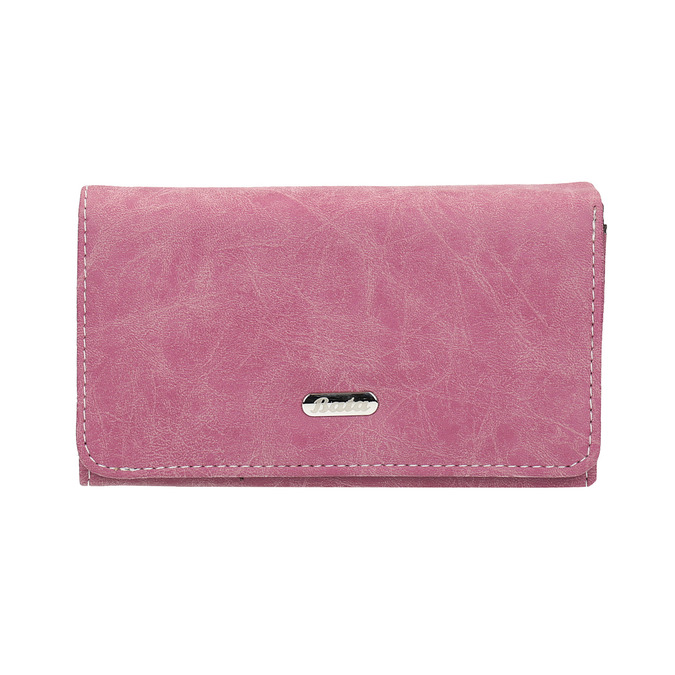Stylish ladies' purse, pink , 941-5153 - 26