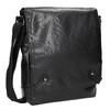 Men's crossbody bag bata, black , 961-6262 - 13