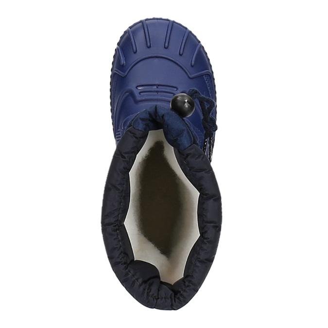 Children's insulated winter snow boots mini-b, blue , 392-9200 - 19