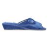 Ladies' slippers bata, blue , 679-9606 - 15