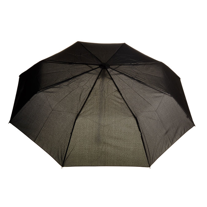 Black telescopic umbrella bata, black , 909-6600 - 26