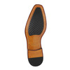 Brown leather Oxford shoes bata, brown , 826-3810 - 26
