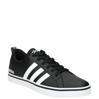 Men's casual sneakers adidas, black , 801-6136 - 13