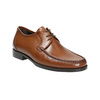 Leather shoes with contrasting quilting for gentlemen bata, brown , 824-4838 - 13