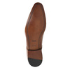 Men's leather shoes bata, brown , 826-3836 - 26