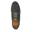 Casual leather shoes weinbrenner, blue , 846-9630 - 19