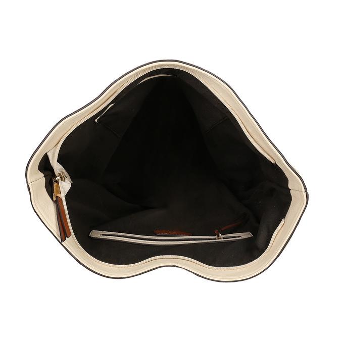 Hobo-style handbag bata, beige , 961-8705 - 15