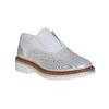 Children's shoes with rhinestones mini-b, silver , 321-2246 - 13