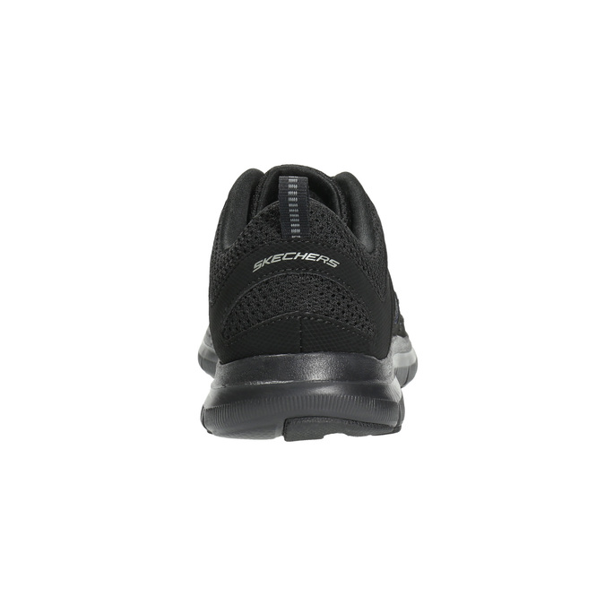 Sneakers with memory foam skechers, black , 509-6963 - 17