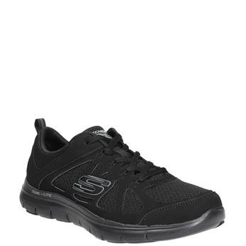 Sneakers with memory foam skechers, black , 509-6963 - 13