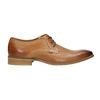 Leather Derby shoes bata, brown , 826-3802 - 15