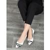 Ladies´ leather ballerinas bata, white , 524-1602 - 18