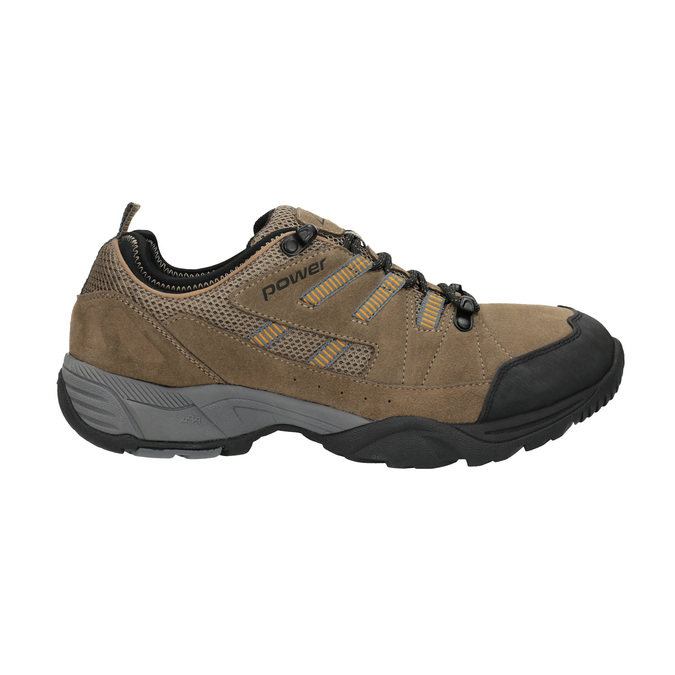 Leather outdoor shoes power, brown , 803-3118 - 15