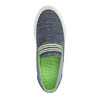 Children's slip-ons north-star-junior, blue , 219-9612 - 19
