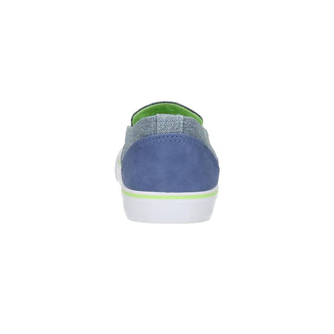 Children's slip-ons north-star-junior, blue , 419-9612 - 17