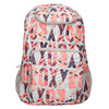 Backpack with coloured pattern roxy, gray , 969-2071 - 19