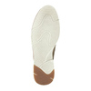 Brushed leather ankle boots weinbrenner, beige , 843-4625 - 26