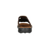 Men's leather slip-ons bata, brown , 866-4611 - 17