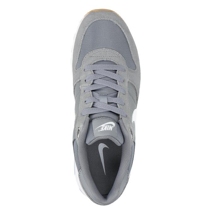 Men's grey sneakers nike, gray , 803-6152 - 19