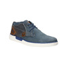 Leather ankle boots bugatti, blue , 846-9635 - 13