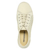 Leather shoes with perforations weinbrenner, 546-8605 - 26