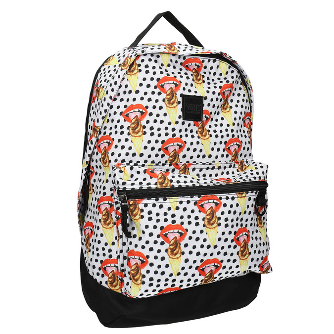 Backpack with pattern and polka dots vans, 969-0082 - 13