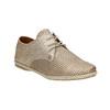 Ladies' leather shoes bata, beige , 526-8629 - 13