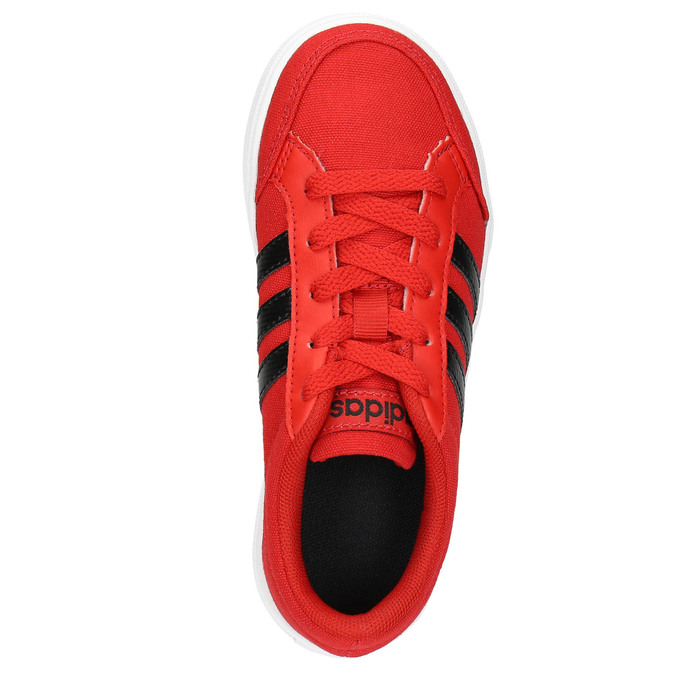 Children's red sneakers adidas, red , 389-5119 - 26