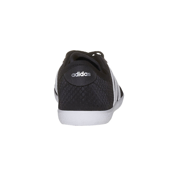 Ladies' breathable sneakers adidas, black , 509-6489 - 17