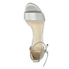 Silver heeled sandals insolia, silver , 761-1608 - 19