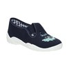 Kids' slippers with a shark mini-b, blue , 379-9213 - 13
