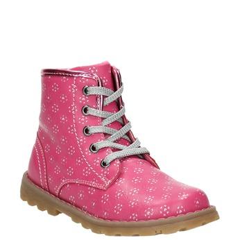 Pink ankle shoes bubblegummer, pink , 221-5606 - 13