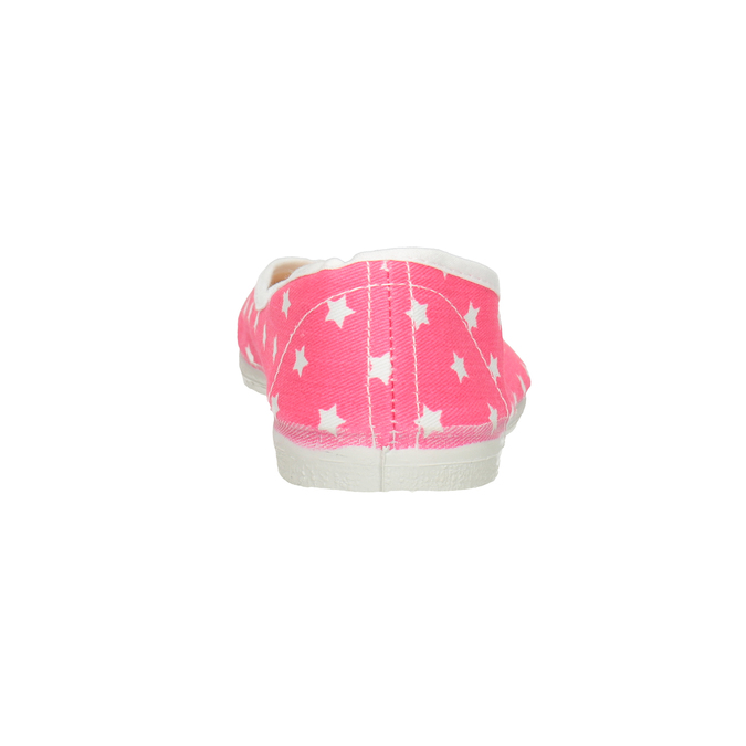 Children's Gym Shoes with Stars bata, pink , 379-5217 - 16