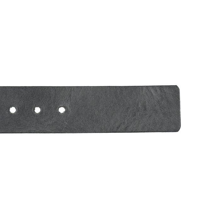 Black leather belt, black , 954-6192 - 16