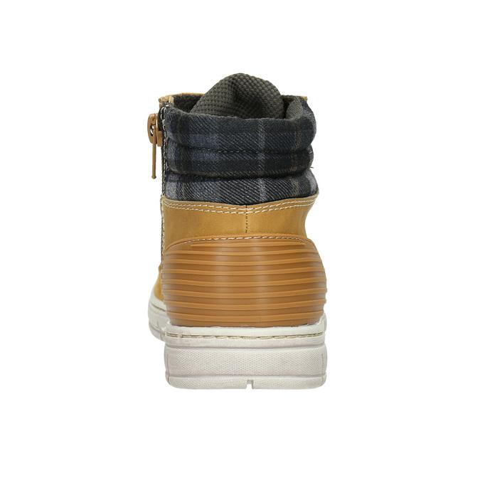 Children's winter boots with distinctive sole mini-b, brown , 311-8611 - 17