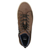 Men's ankle sneakers bata, brown , 846-4651 - 26