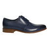 Blue leather shoes bata, blue , 826-9680 - 15
